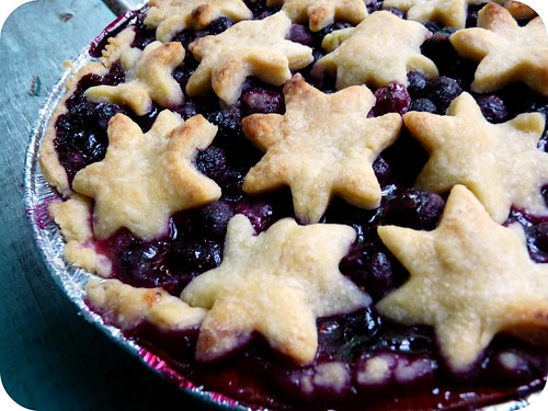 blueberry pie | by madame.furie