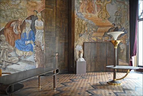 Le salon du Maréchal Lyautey (CNHI)