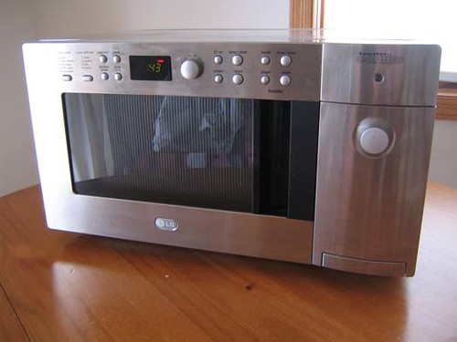 Lg Microwave Oven  Toaster Combo