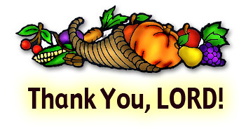 Thank You, Lord   Clipart   WELS net   Flickr