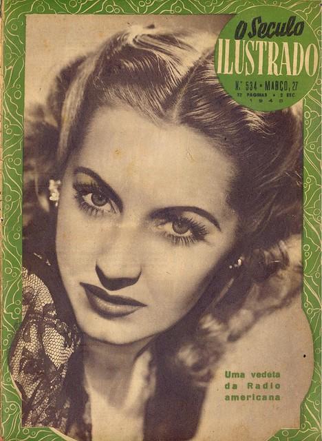 Século Ilustrado, No. 534, March 27 1948 - cover