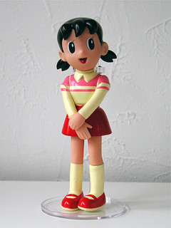 bootleg doraemon figure: shizuka (date unknown) | by j_pidgeon