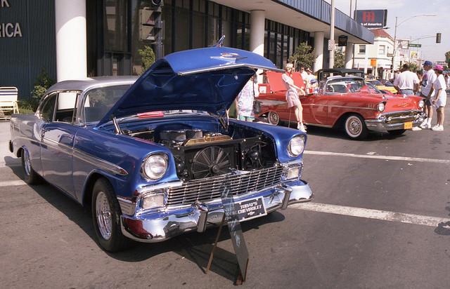 Long Beach custom car show 1991