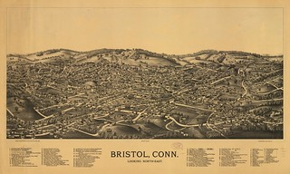 Bristol, Conn. looking north-east. | by uconnlibrariesmagic