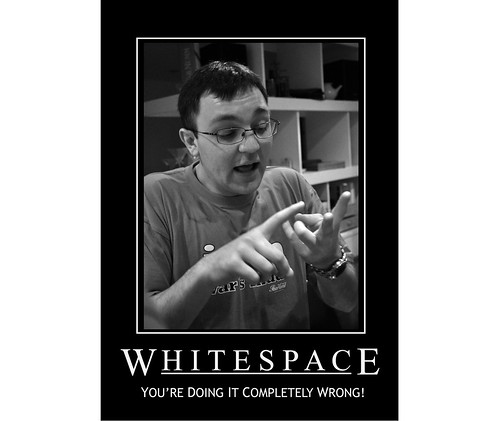 Whitespace: Whitespace, You're Doing It Completely Wrong!