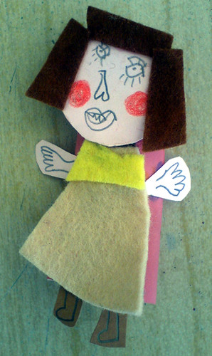 Rubber glove finger puppet | by Fem Manuals!