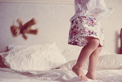 two little monkeys, jumping on the bed :) | by Le Fabuleux Destin d'Amélie
