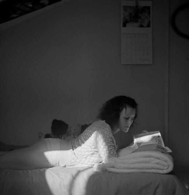 Julie dans mon Rolleiflex (IV)