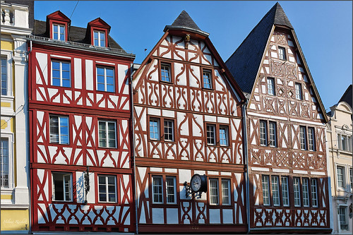 Fachwerk in trier flickr photo sharing for Fachwerk 3d