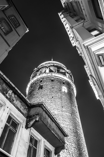 The Galata tower, Istanbul, Turkey, Eruope