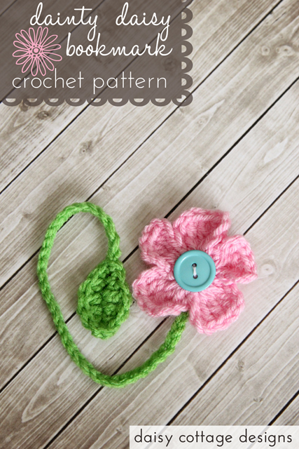crochet bookmark pattern