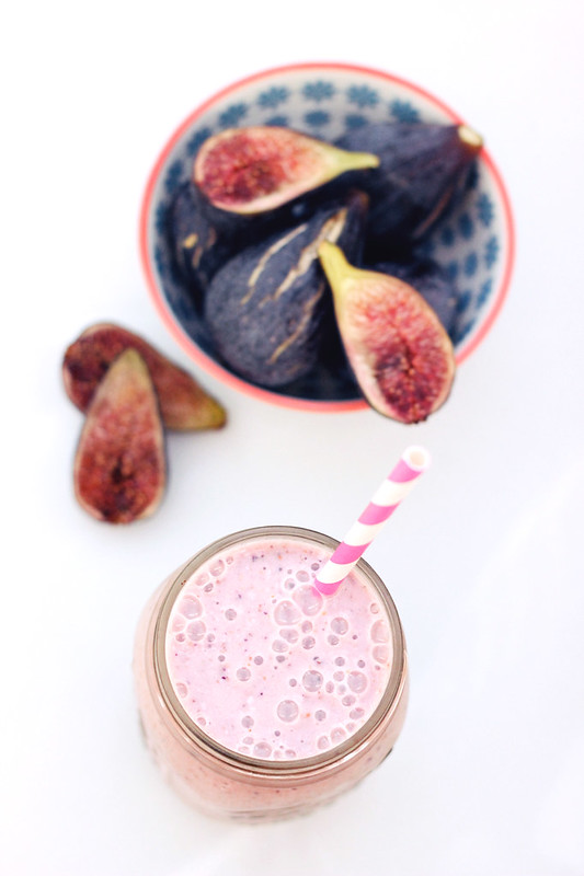 Fresh Fig & Banana Smoothie (Gluten-Free & Vegan)
