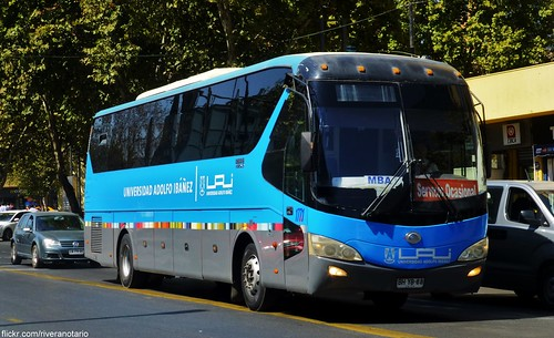 Yutong bus - Santiago, Chile