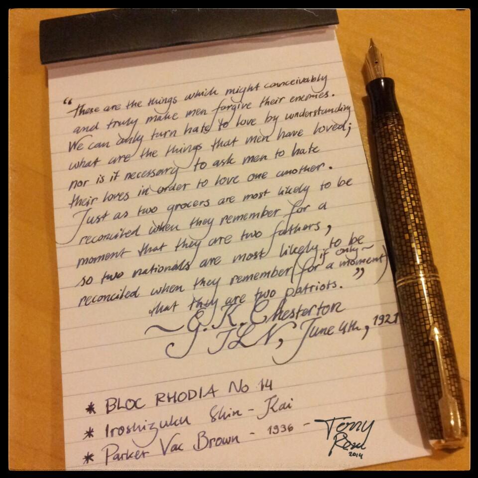 Golden Web writing sample