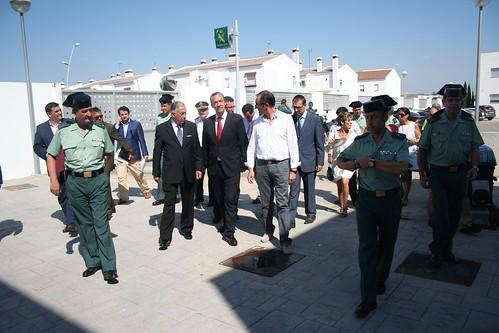 El secretario de estado de seguridad visita el nuevo acuar for Ministerio del interior guardia civil