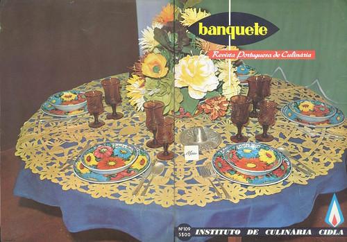 Banquete, Nº 109, Março 1969 - capa, contra-capa