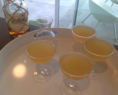Daiquiris with Plantation Barbados 5-year Grande Reserve