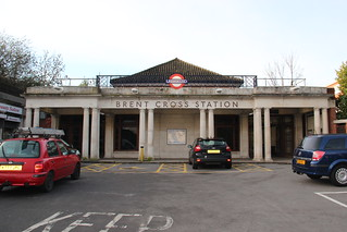 Portico of Brent Cross Station