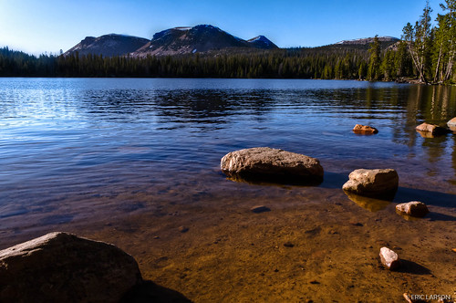 Mirror Lake in Utah's Uinta Mountains