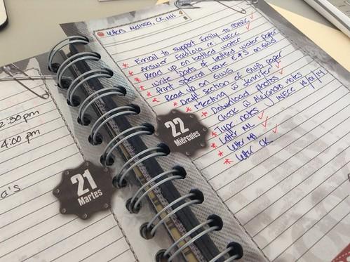 To-Do list handwritten