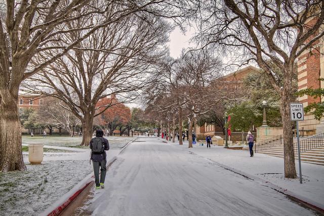 Snow on Hilltop Lane