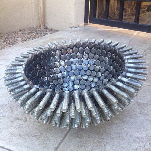 Firepit Art Bowl Artist Beverlyhills Beach Club Co