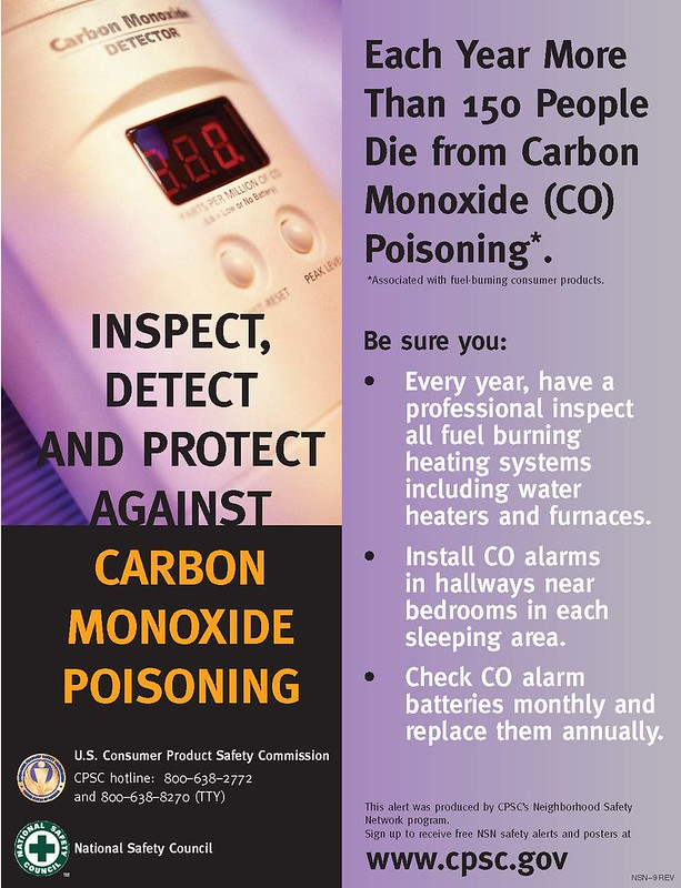 Inspect, Detect and Protect Against Carbon Monoxide Poisoning