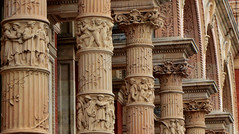 Музей Виктории и Альберта. Facade of the Victoria and Albert Museum, London