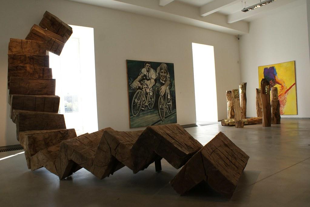 Musée d'art contemporain Kampa à Prague : Un des musées les plus intéressants de la ville.