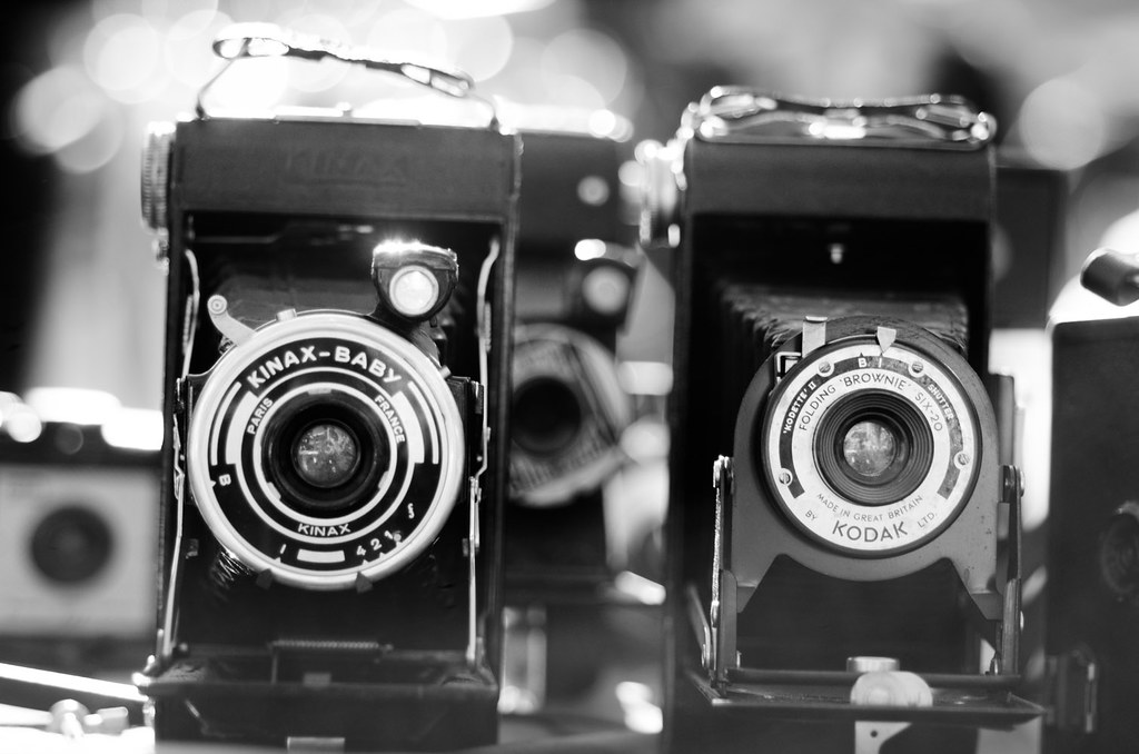 Lovely old cameras