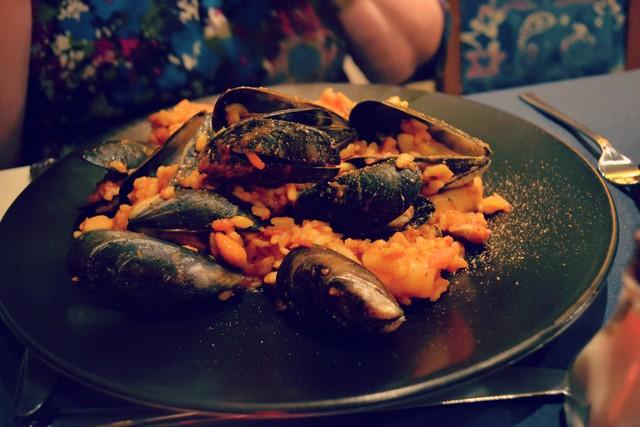 La Fiorentina mussels