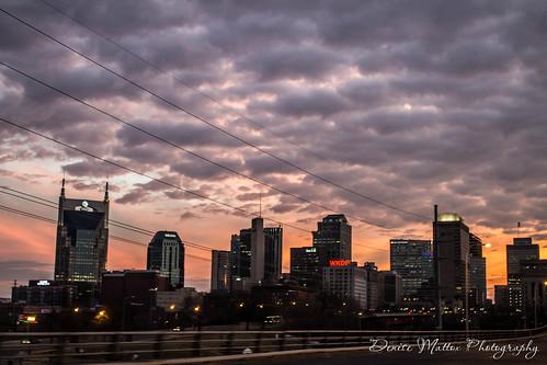 07/47: Sunset over Nashville