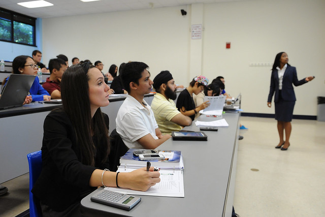 Evening MBA program with Dr. Dominique Gehy