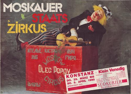 Oleg Popov (Moskauer Staats Zirkus. 1990)