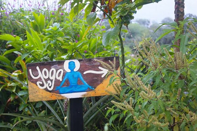 Costa Rica- Yoga for Every Soul Yoga Sign - El Castillo