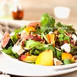 Fig&Peach Salad