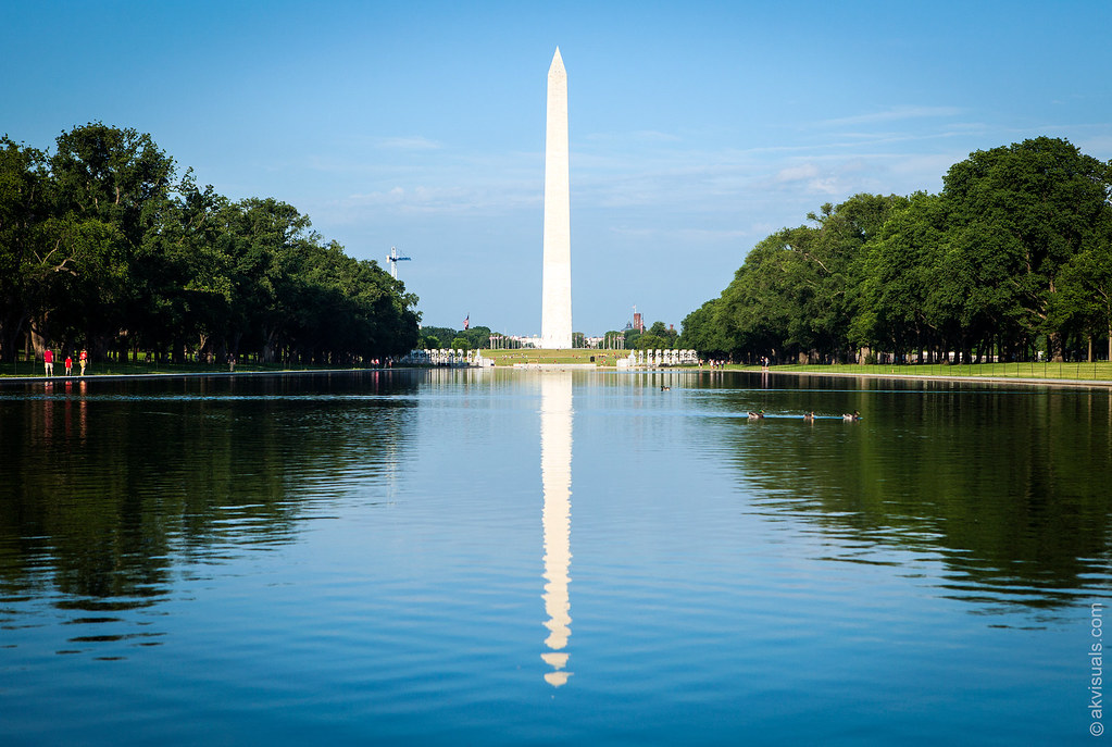Lincoln Memorial Reflecting Pool, Washington, DC