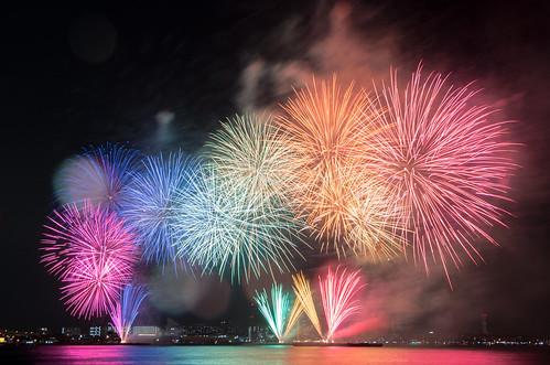 Kobe Fireworks 2014 08