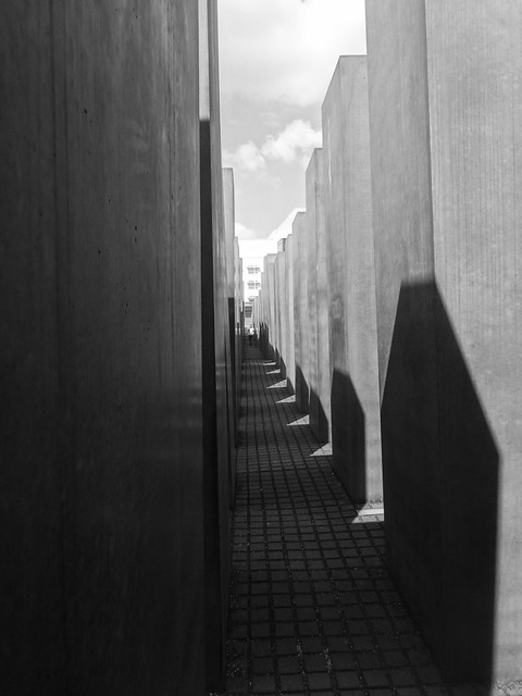 Long shadows, Memorial to the Murdered Jews of Europe