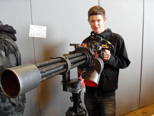 M134 Minigun 7 62mmx51mm 2000 4000rpm 800 1000m Range 6