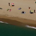 Nudismo en La Musclera, Arenys de Mar