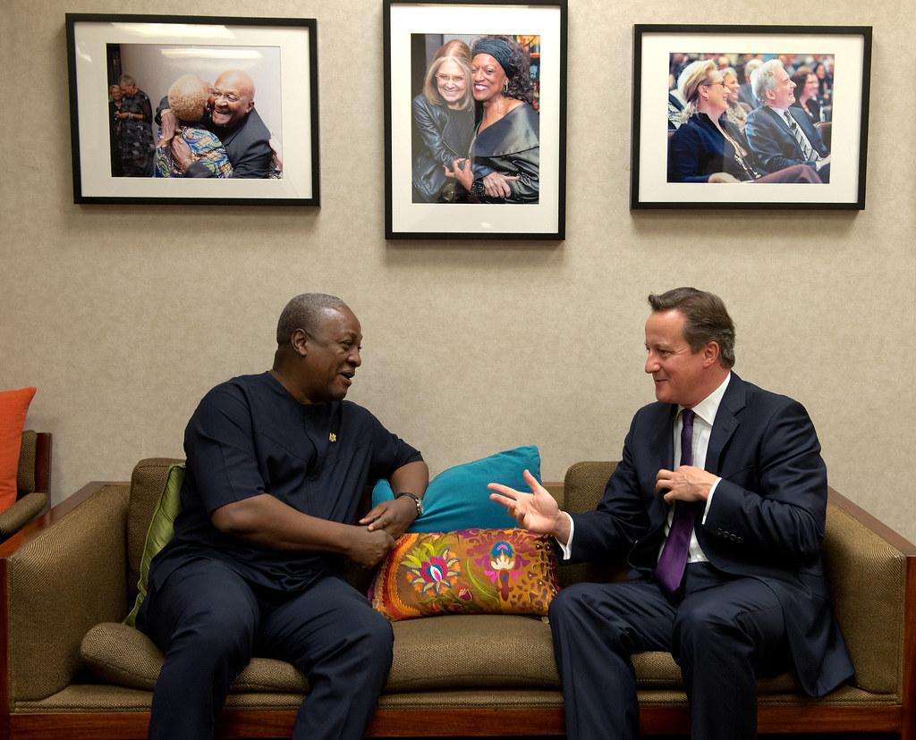 Prime Minister meets President of Ghana