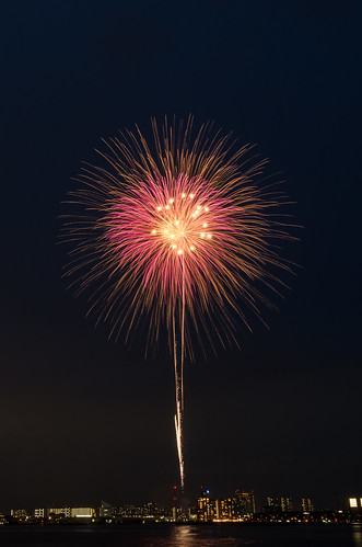Kobe Fireworks 2014 01