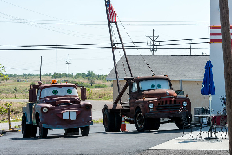 Historic Route 66 - 'Towtaer' at  'Cars on The Route' at Galena, Kansas