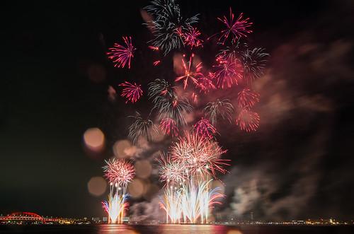 Kobe Fireworks 2014 06