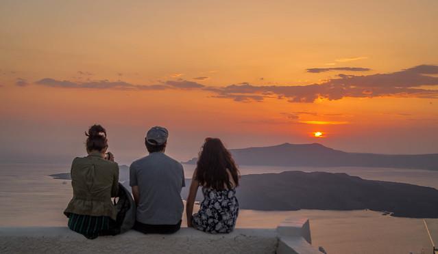 Sunset@Santorini