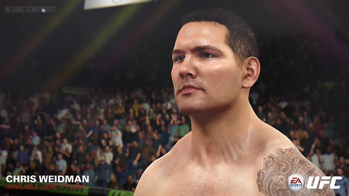 EA SPORTS UFC - Chris Weidman | by easports_ufc