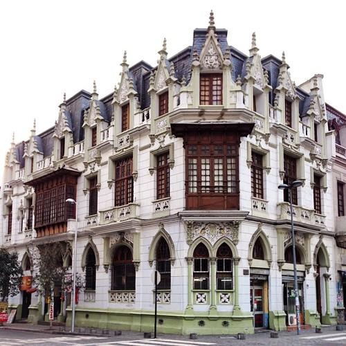 Casa de Francisco Valdés Vergara, de Larraín Bravo, 1908 - Alonso de Ovalle - Santiago, Chile
