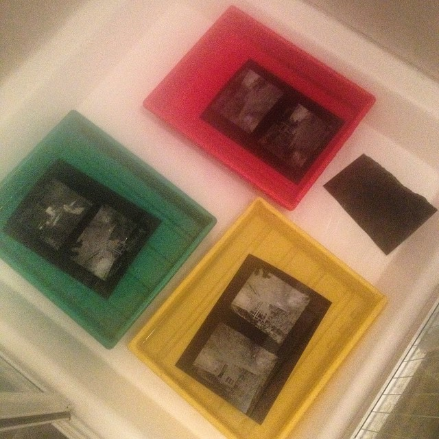 #ContactPrints in the morning! Scan worthy but thats all, purely made for #scanclub #BelieveInFilm #devclub