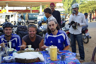 Breakfast with The Greeks - Cycling in Cambodia | by The Hungry Cyclist